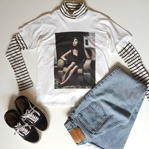 Amy Winehouse Graphic Tee